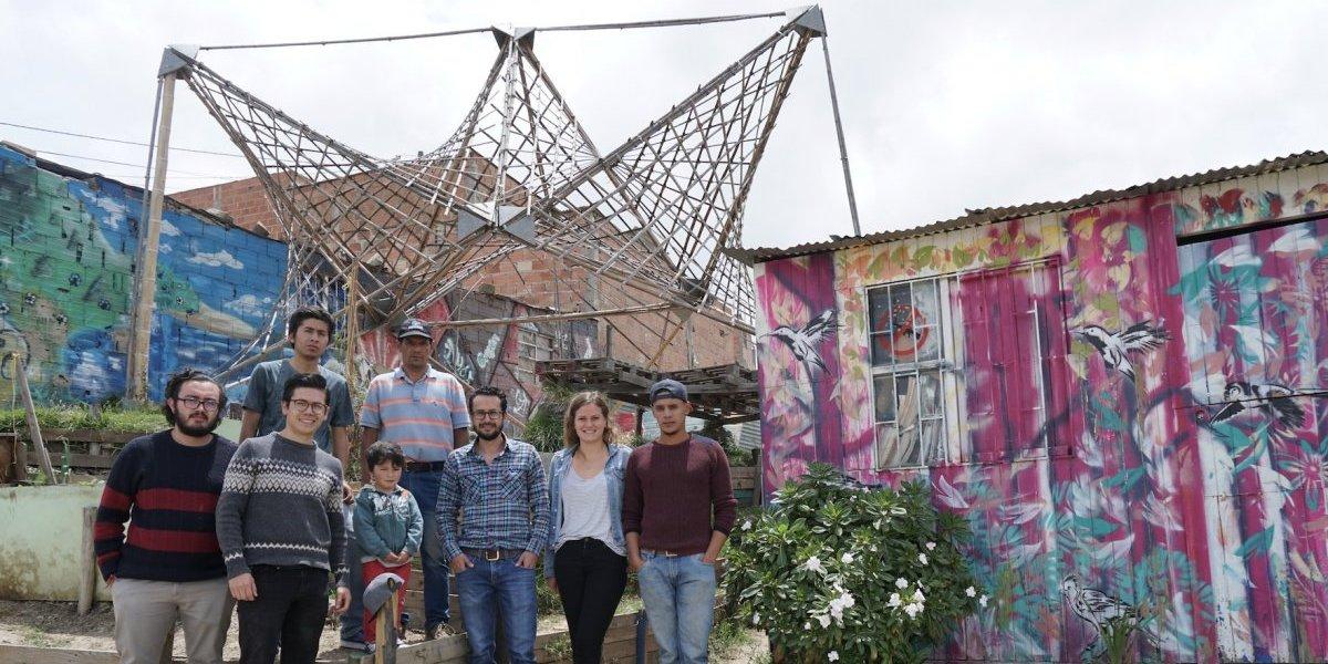 Reconstruyendo tejido social en Cazucá a través de la arquitectura emergente
