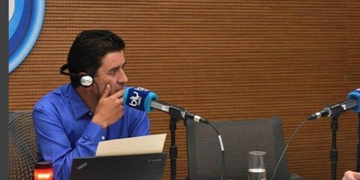El agarrón de Néstor Morales con profesora que enfrentó a Duque en Francia