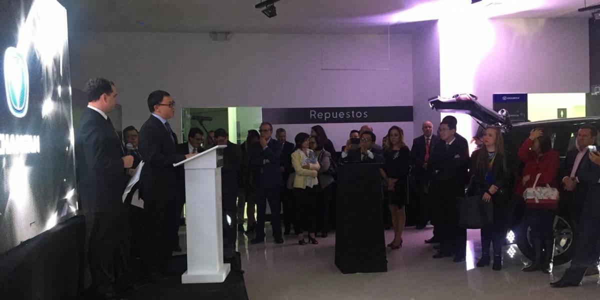 Changan presentó en un gala de música y tecnología su nuevo modelo CS55 al Ecuador