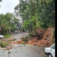 Intensas lluvias provocan varios deslaves en la zona metropolitana de Monterrey