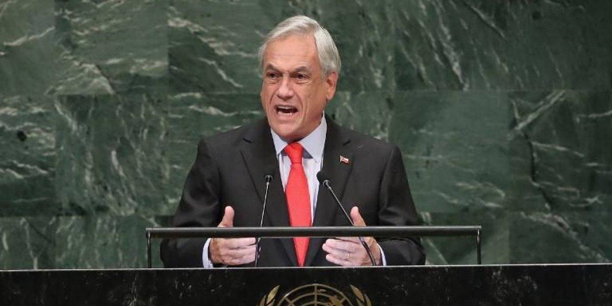 Asamblea de la ONU: Piñera urge a Venezuela a permitir la entrada de ayuda humanitaria
