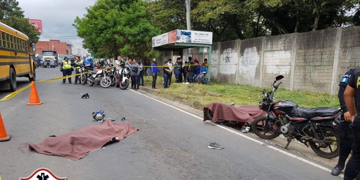 Balacera en Villa Canales deja un fallecido y dos heridos