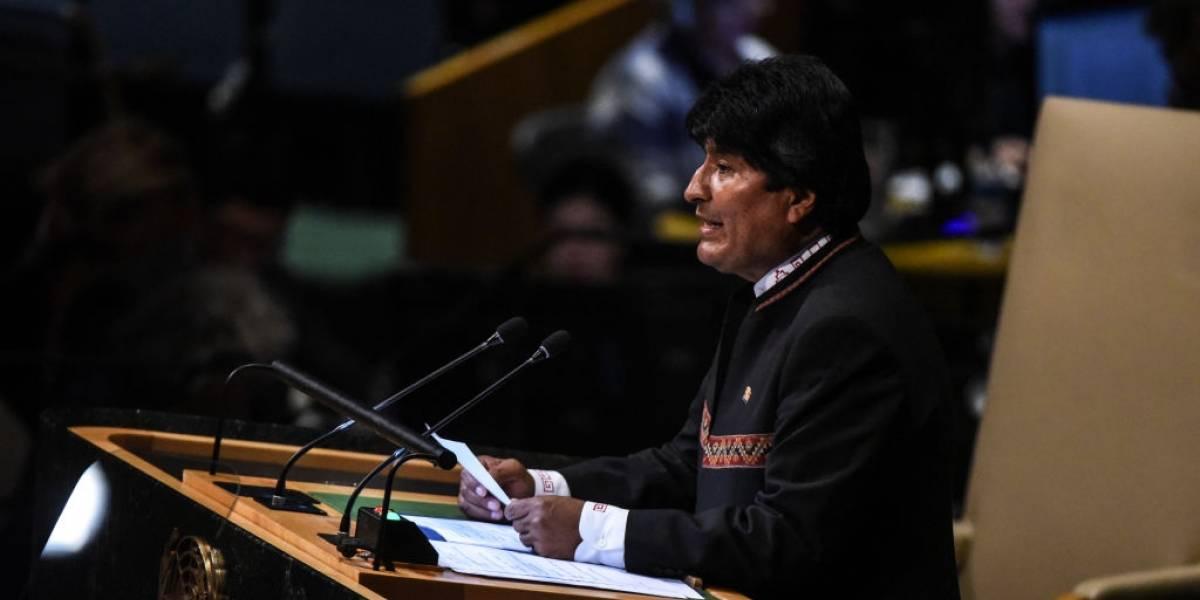 """Tras críticas de Evo Morales contra Trump por no respetar la democracia, la oposición le reprocha: """"¿Y vó?"""""""