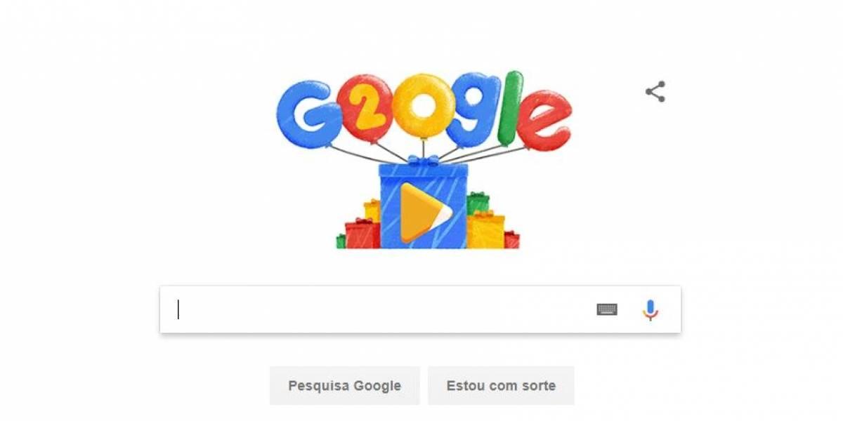 Buscador mais popular do mundo, Google completa 20 anos de fundação