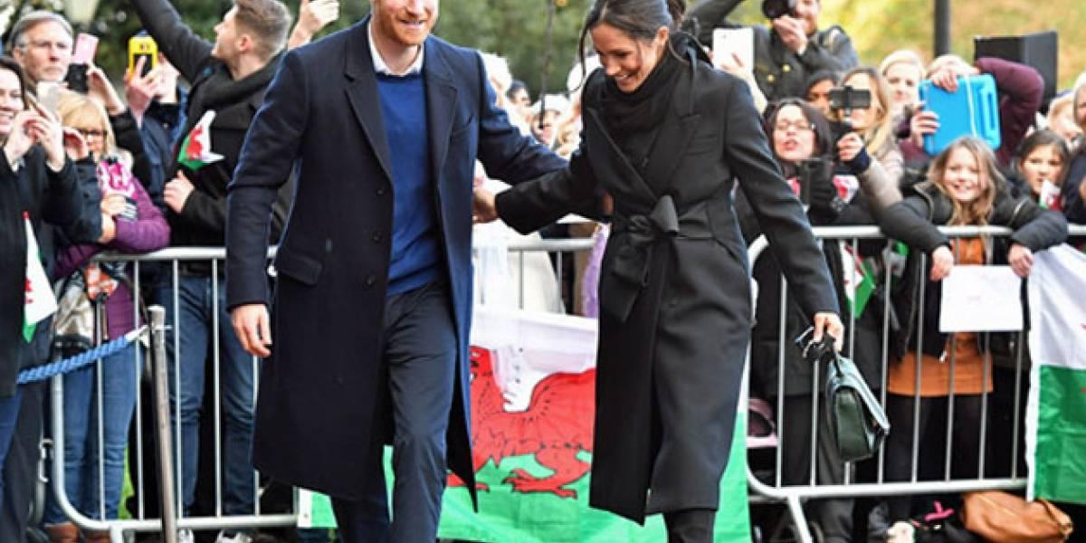 ¡Como las personas comunes! Harry y Meghan tomaron el tren y sorprendieron a los pasajeros