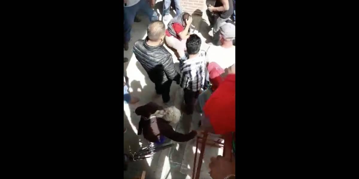 """Linchamiento a """"robachicos"""" en Hidalgo deja al menos un muerto"""