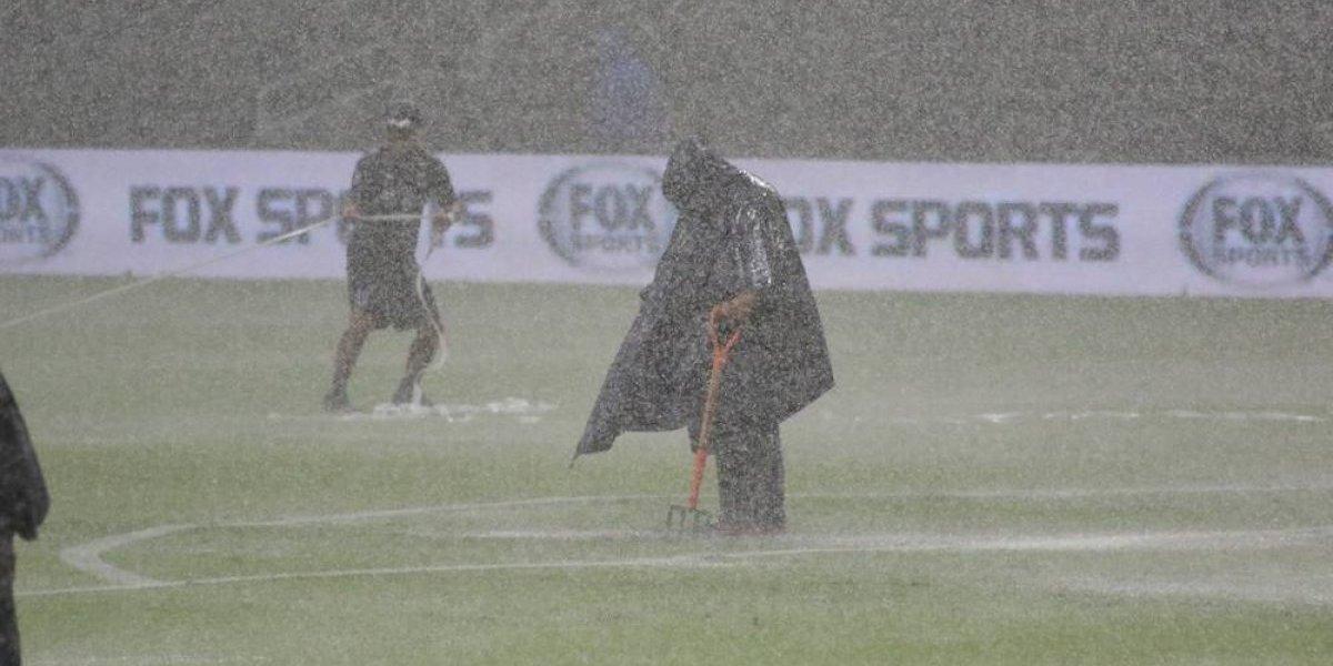 Por diluvio se suspende partido de Copa MX entre Rayados y Zacatepec