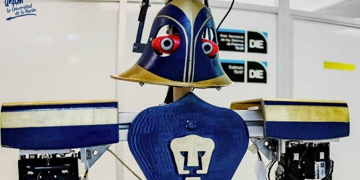 """Justina"", la robot mexicana que representará a México en Madrid"