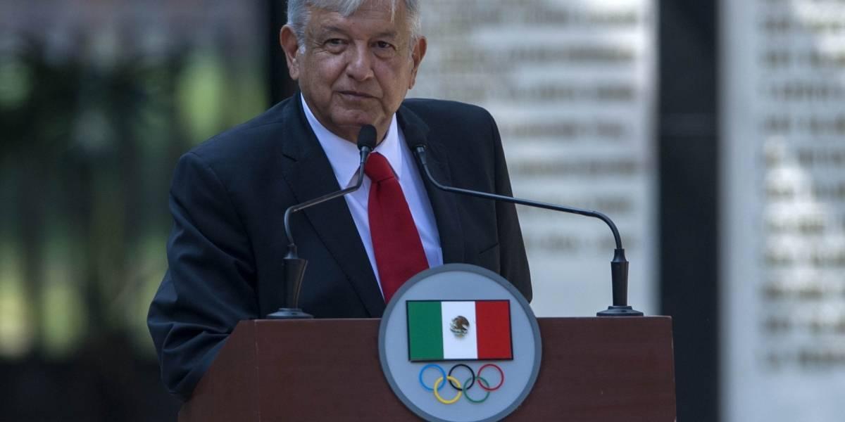 """'Vamos a fortalecer la actividad deportiva en México"""", garantiza López Obrador"""