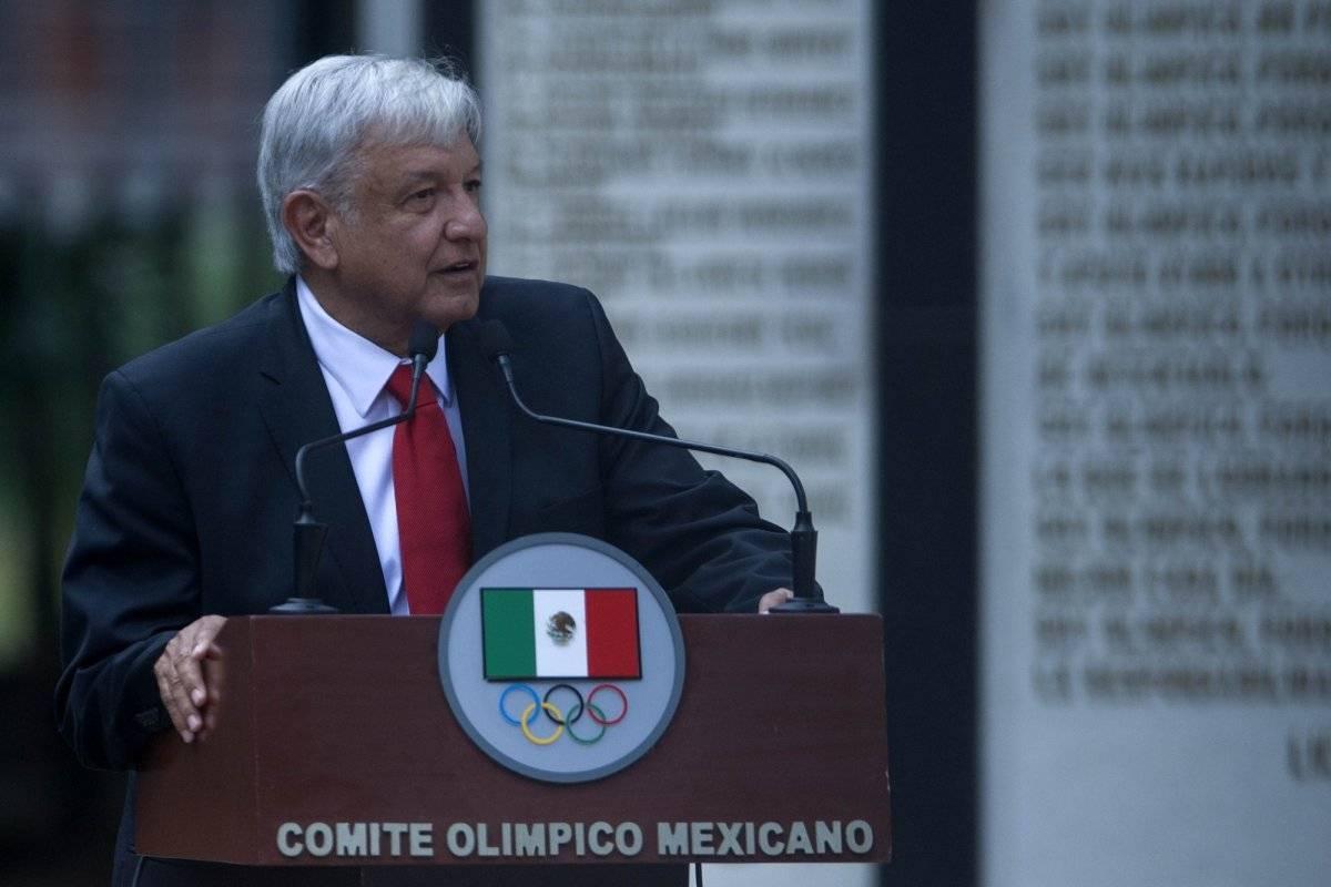 López Obrador afirma que buscará impuLsar el deporte desde ya |MEXSPORT