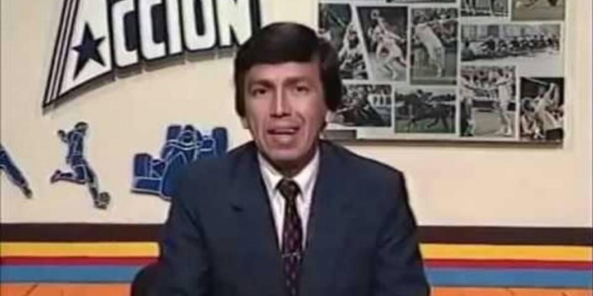 Falleció el periodista deportivo ecuatoriano Manuel Kun Ramírez