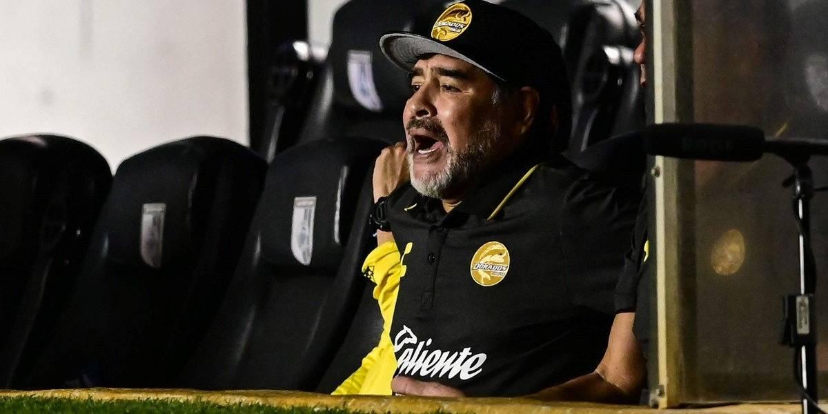 """Maradona no siente presión tras quedar eliminado en México: """"Quién la tiene es el que no puede llevar 100 pesos a la casa"""""""