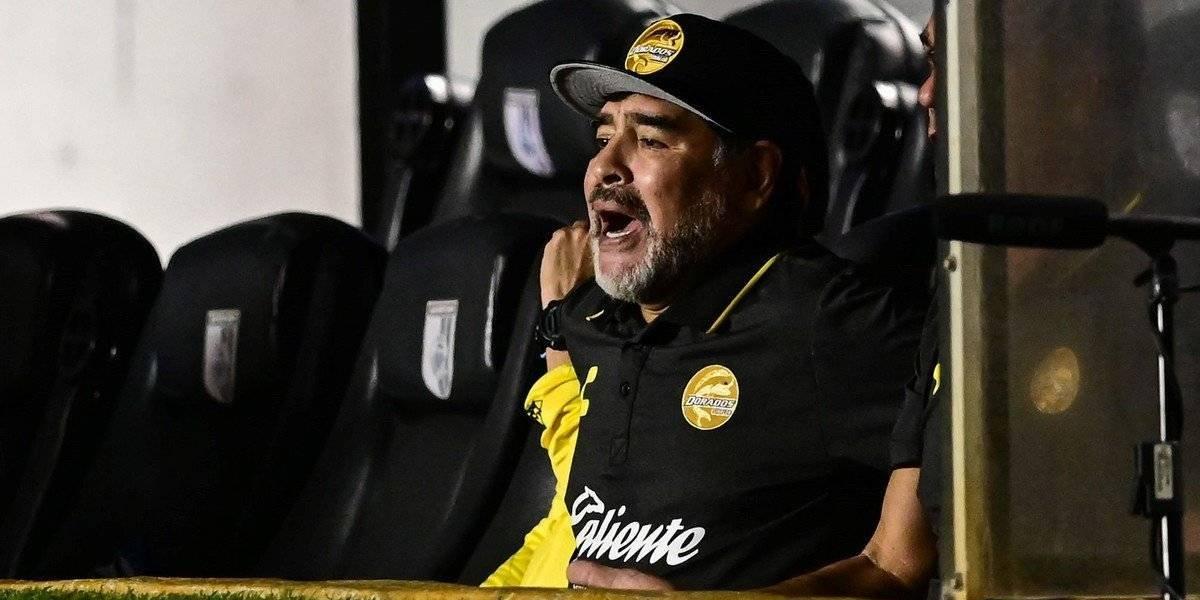 """Maradona golpea la mesa: """"Ahora sí voy a empezar a contar las cosas que sé de la nueva FIFA"""""""