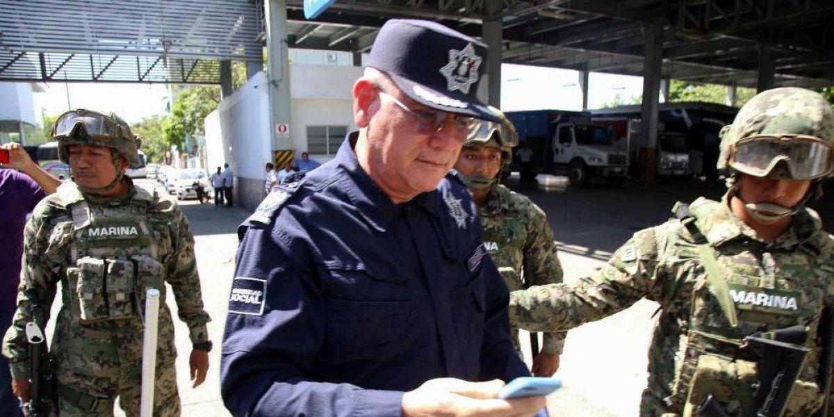 Renuncia secretario de Seguridad Pública de Acapulco