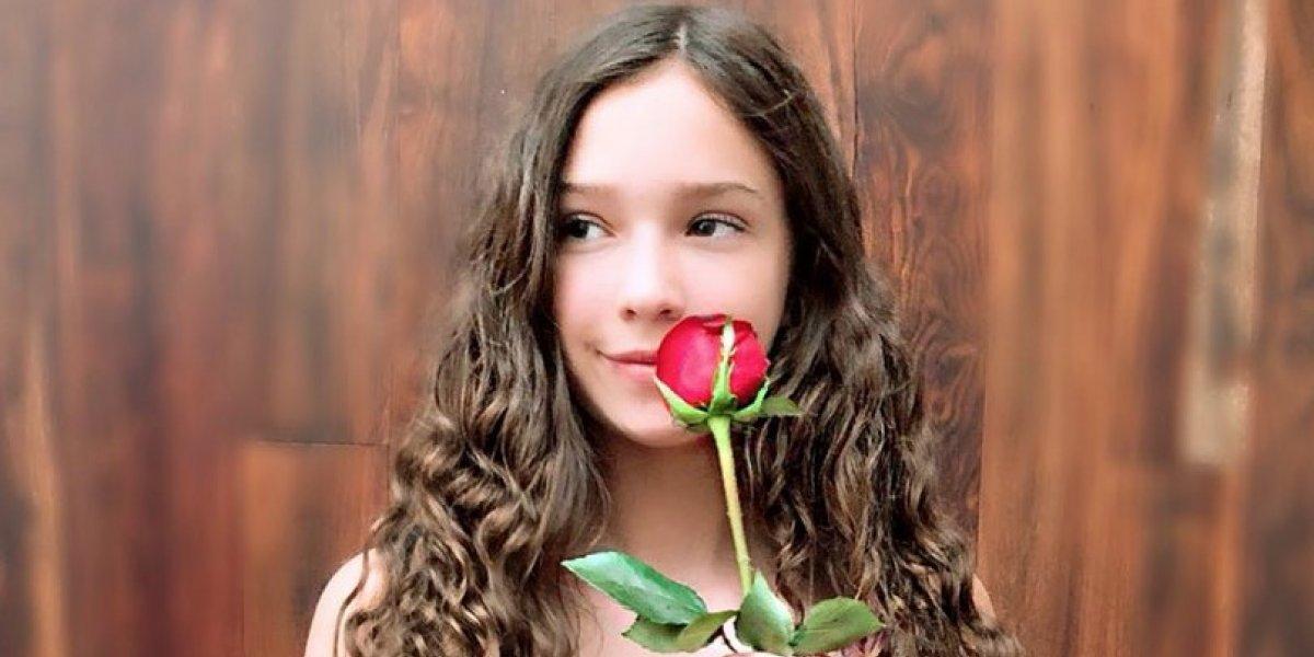 Hija de Andrea Legarreta impacta en redes con su belleza