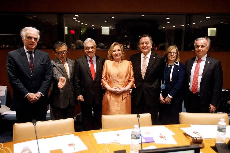 El romántico gesto entre Cecilia Morel y Sebastián Piñera en la ONU