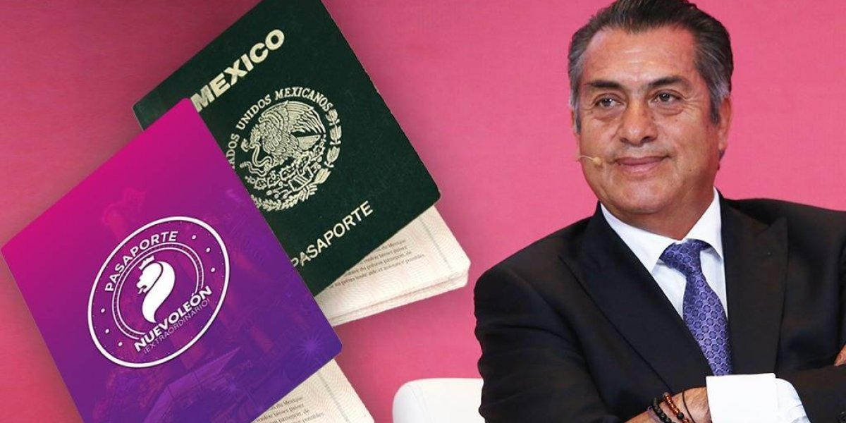 Gobierno de Nuevo León emite su propio pasaporte