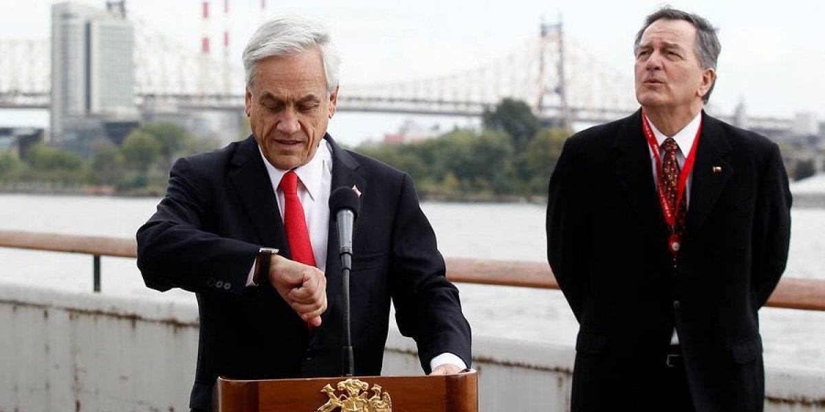 El inusual suceso que originó Trump y que retrasó discurso de Piñera en la ONU