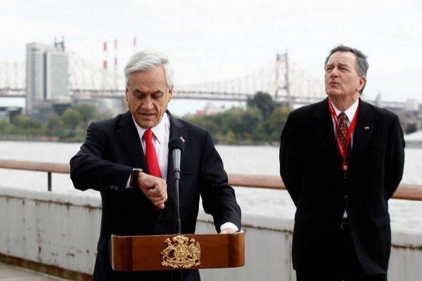 El inusual retraso de Piñera en la ONU