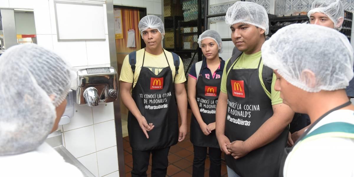 McDonald's presenta una nueva edición de su 'Día Internacional de Puertas Abiertas'