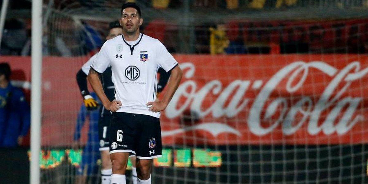 """Insaurralde respalda al cuestionado Tapia en Colo Colo: """"Nosotros estamos con él"""""""