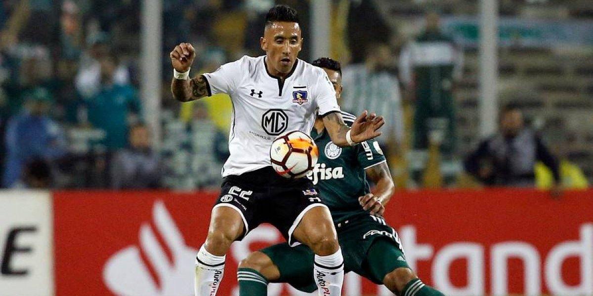 Lucas Barrios es la gran duda de Colo Colo para el clásico ante la UC