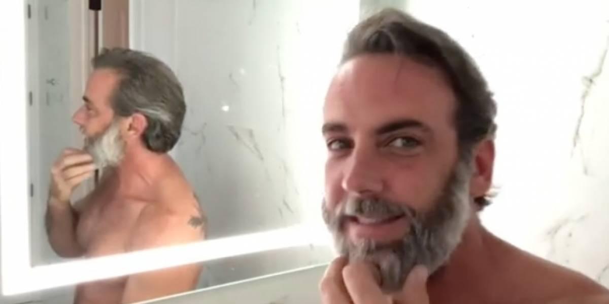 Carlos Ponce cambia de look