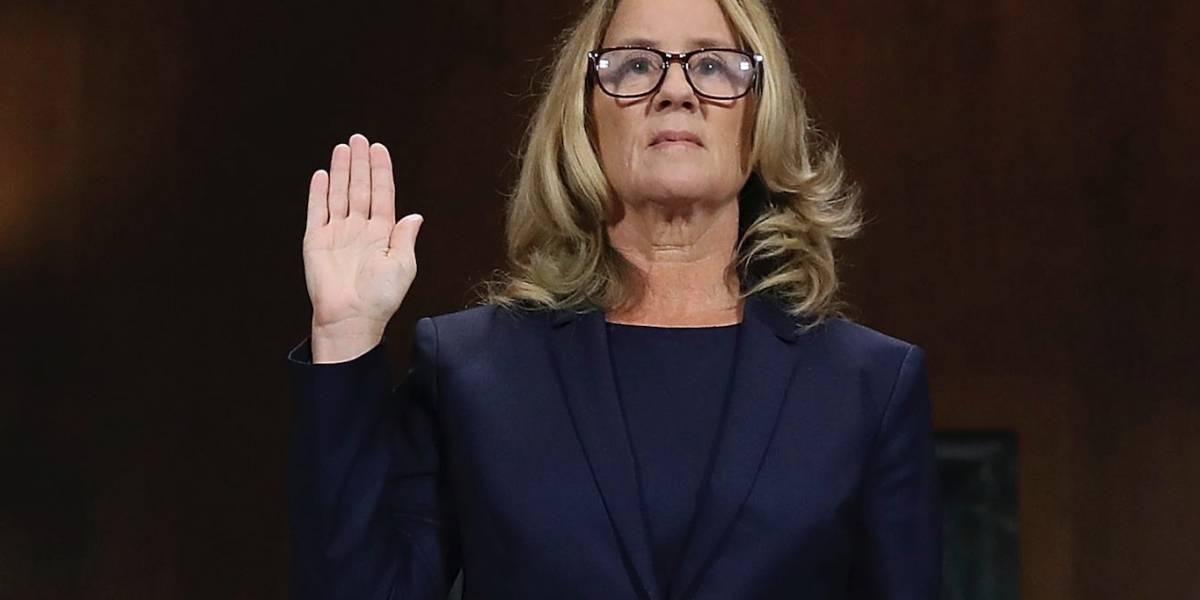 Acusadora de juez Kavanaugh defiende fidelidad de sus recuerdos