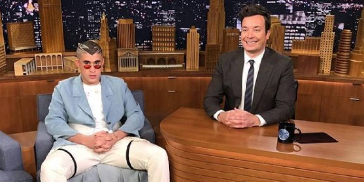 Bad Bunny aprovecha su presentación en programa de Jimmy Fallon para denunciar a Donald Trump