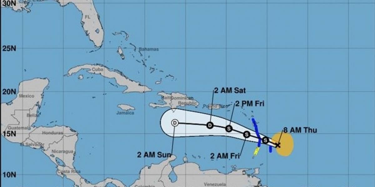 Tormenta tropical Kirk azotará las Antillas Menores pero no representa peligro para Puerto Rico