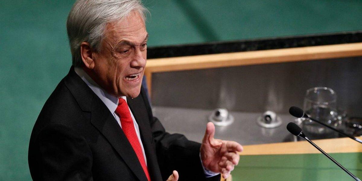 La reacción de la delegación chilena tras la arremetida de Piñera contra Maduro