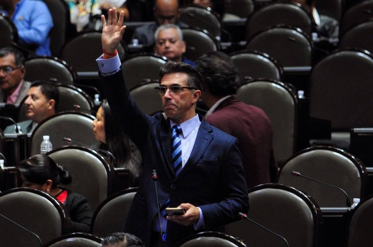 El diputado pertenece a la bancada de Morena. Foto: Cuartoscuro