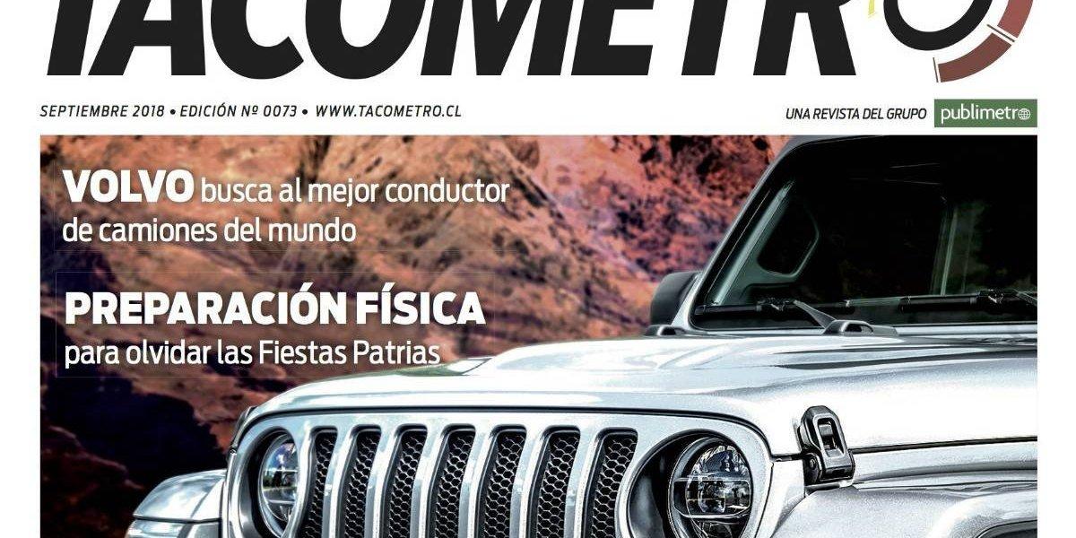 Imparable arriba la nueva revista Tacómetro de septiembre