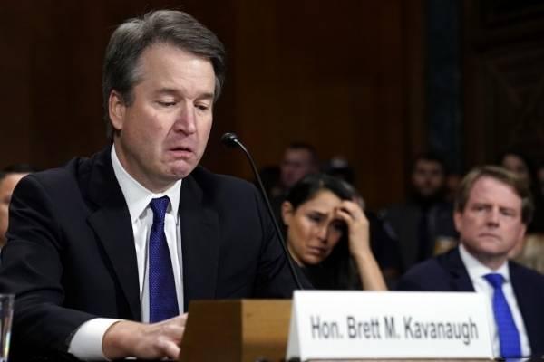 Brett Kavanaugh ante el Senado de Estados Unidos