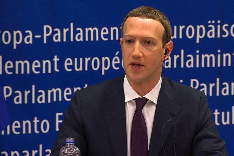 Mark Zuckerberg en Bruselas