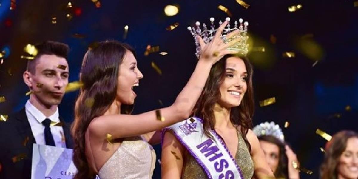 Veronika Didusenko, Miss Ucrania 2018, pierde su título por ser madre soltera