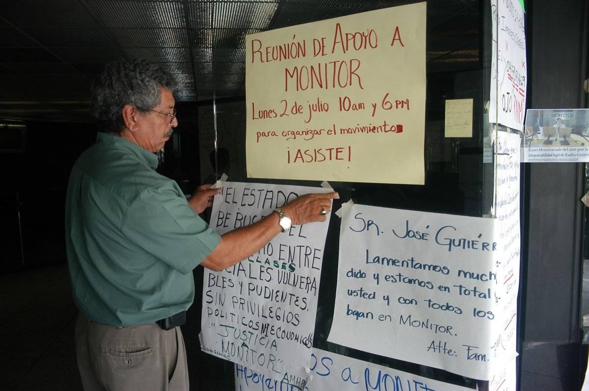 Tras el cierre de Grupo Monitor, miles se organizaron en su apoyo. Foto: Cuartoscuro
