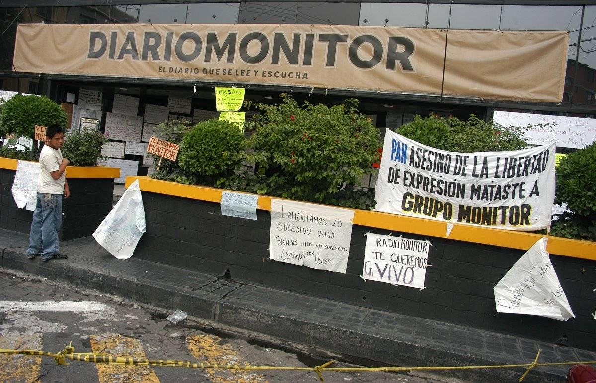 Fue en 2009 cuando se emitió la última edición de Diario Monitor, cuyas instalaciones fueron embargadas por Hacienda. La principal razón para que Grupo Monitor se mantuviera en quiebra fue el conflicto que mantiene con la familia Aguirre, propietaria de Grupo Radio Centro. Foto: Cuartoscuro