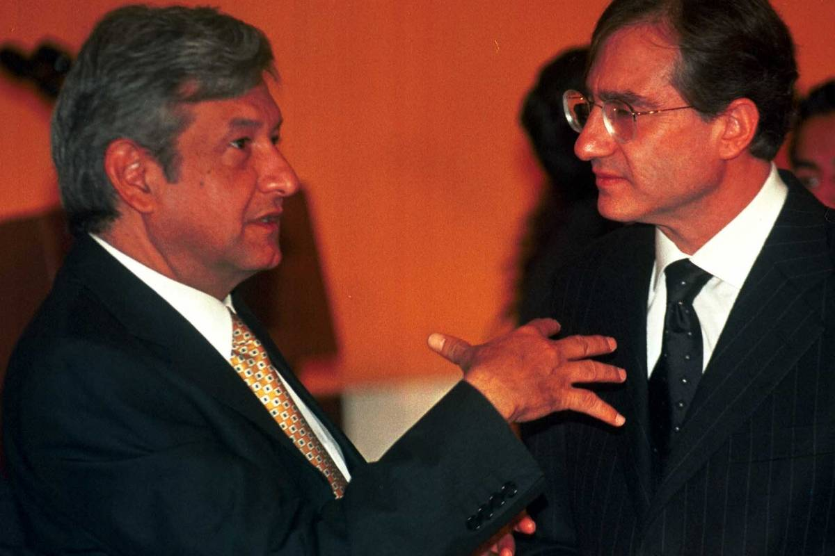 Y de Andrés Manuel López Obrador, entonces jefe de Gobierno Foto: Cuartoscuro