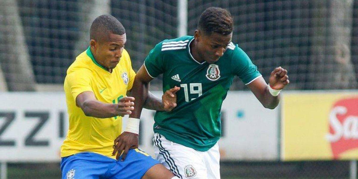 Mexicano Joao Maleck, baja de la Selección sub-20