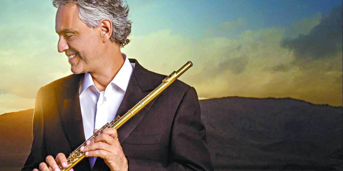 Andrea Bocelli fecha turnê brasileira em SP com participações especiais