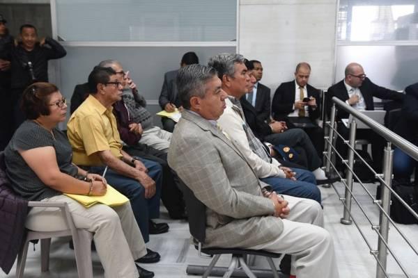 audiencia de primera declaración caso Seguridad y Transporte