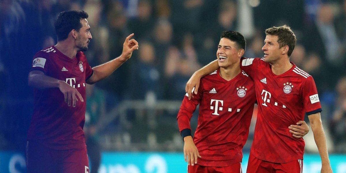 James y el Bayern quieren recuperar la senda del triunfo, ante el Hertha Berlín