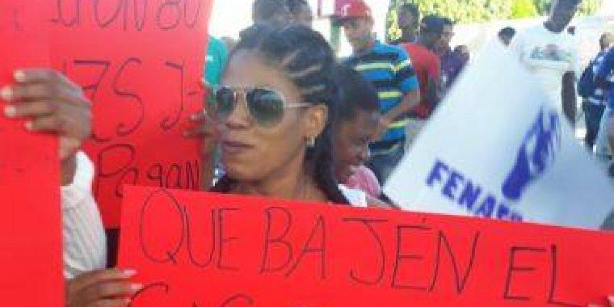 Continúan las protestas por el precio de los combustibles