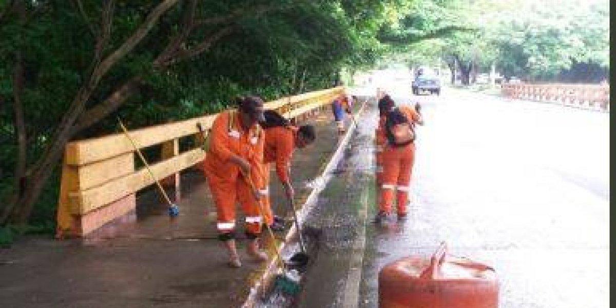 Ministerio de Obras Públicas coordina acciones preventivas por tormenta Kirk