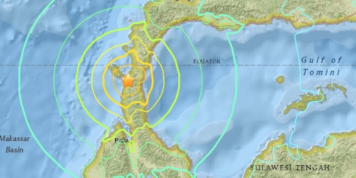 Fuerte terremoto de 7.5 y alerta de tsunami — Indonesia