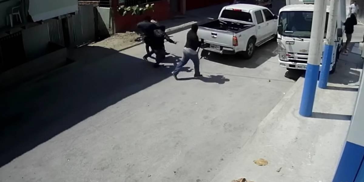 Vecinos intentaron secuestrar a comerciante de Manabí