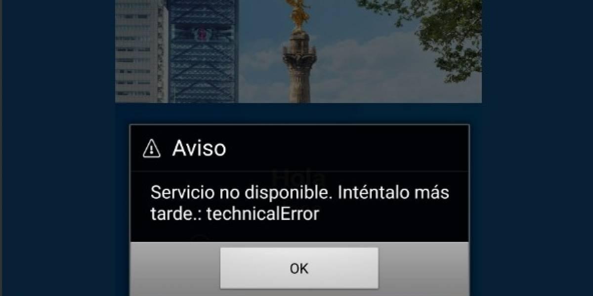 En plena quincena, usuarios reportan fallas en servicio de BBVA Bancomer