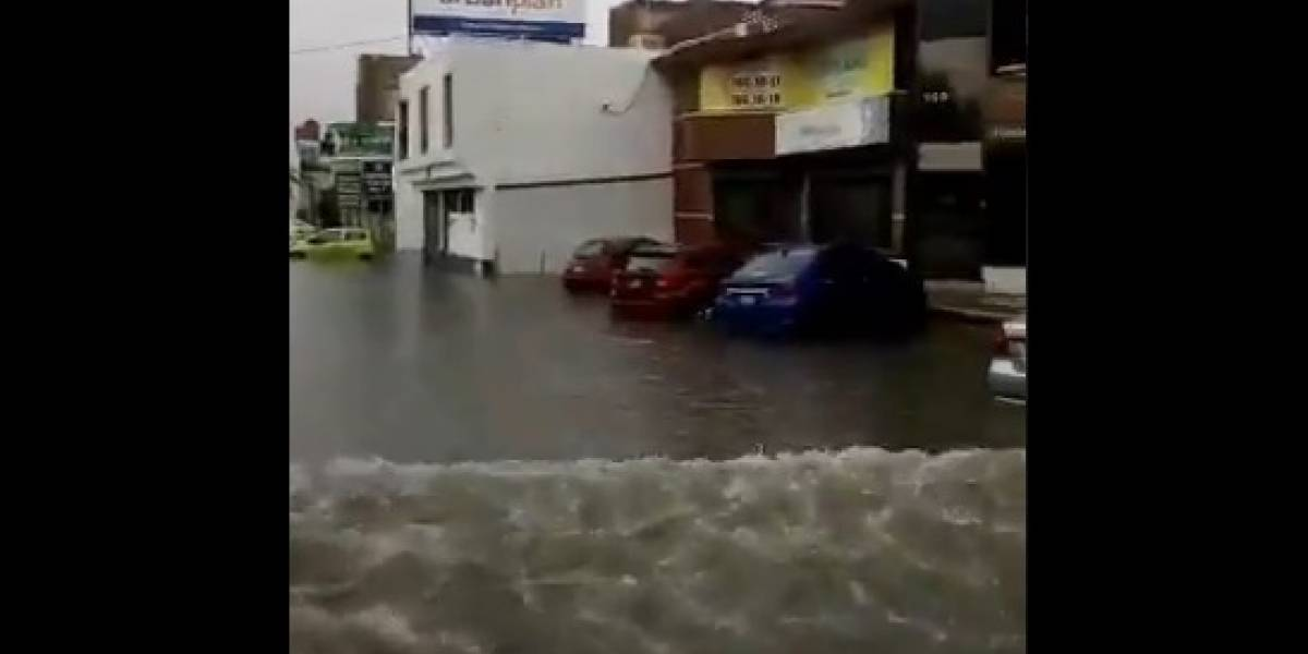 Emergencia en Torreón por fuertes lluvias e inundaciones