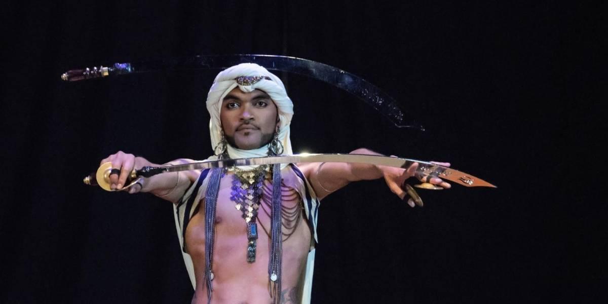 Rashad, la danza de un hombre en el reino de las mujeres